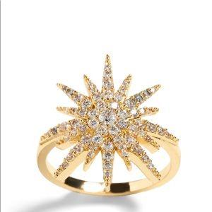 Banana Republic Snowflake Ring size 7